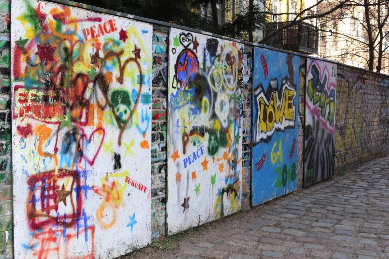 Graffiti, Grundschule im Hofgarten
