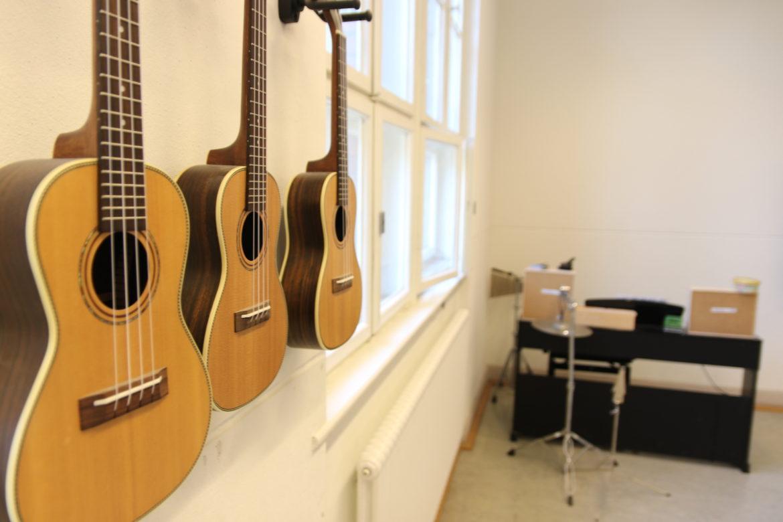 Musikraum, Grundschule im Hofgarten