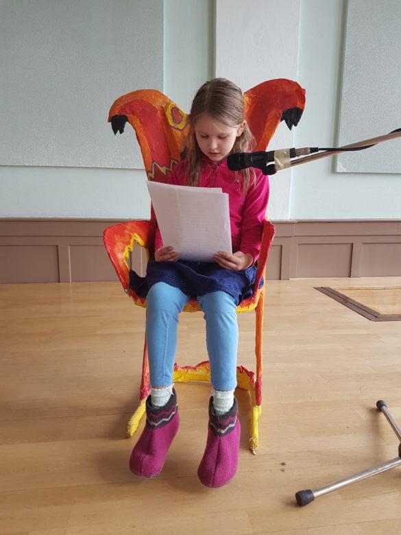 Lesung in der Ameisenklasse