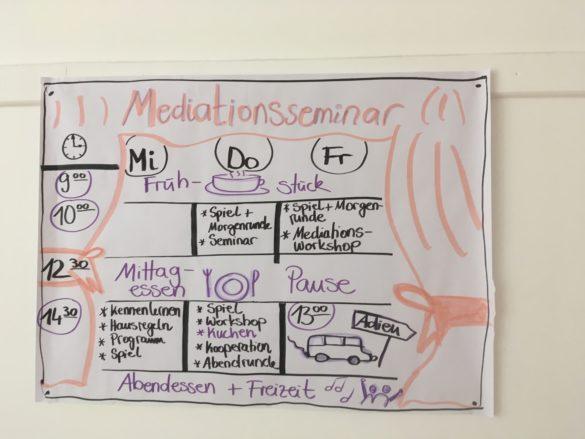 Die Mediatoren-Fahrt