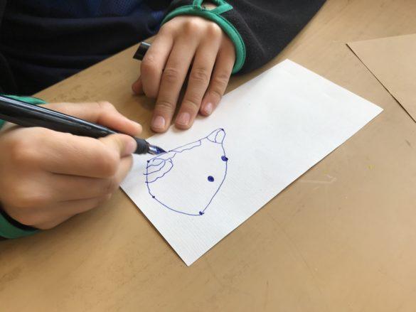Profilkurs Experimentelles Zeichnen mit Katalin Pöge